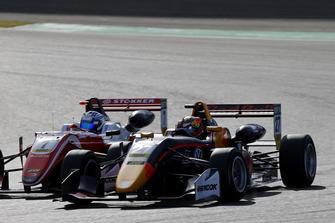 Ralf Aron, PREMA Theodore Racing Dallara F317 - Mercedes-Benz, Dan Ticktum, Motopark Dallara F317 - Volkswagen