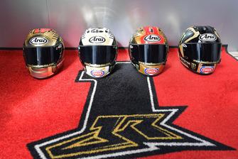Les casques de Champion de Jonathan Rea, Kawasaki Racing
