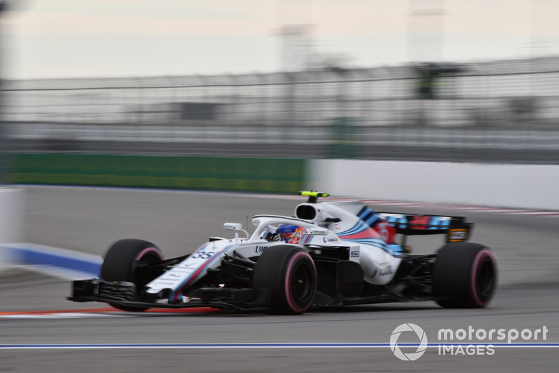 13. Sergei Sirotkin, Williams FW41