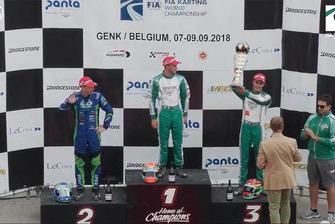 KZ World Championship, Genk. Ganador Mattel Vigano, segundo Daniel Bray, tercero David Vidales