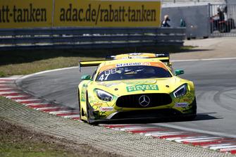 Mercedes-AMG GT3 №47 команды HTP Motorsport: Макс Гётц, Маркус Поммер