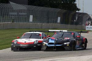 #912 Porsche Team North America Porsche 911 RSR, GTLM - Laurens Vanthoor, Earl Bamber #24 BMW Team RLL BMW M8 GTLM - John Edwards, Jesse Krohn