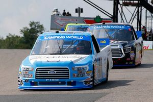 Ben Rhodes, ThorSport Racing, Ford F-150 FEI World Equestrian Games and Noah Gragson, Kyle Busch Motorsports, Toyota Tundra Safelite AutoGlass