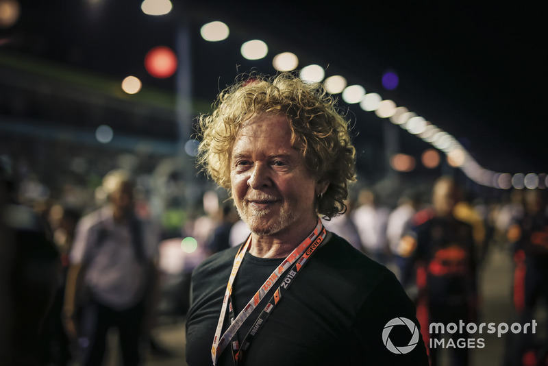 Mick Hucknall, cantante y compositor de Simply Red