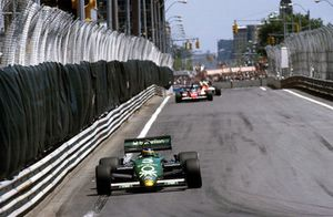 Michele Alboreto, Tyrrell 011 Ford, 1° classificato