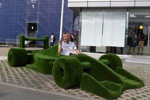 Un fans dans une F1 en herbe