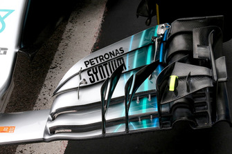 Mercedes AMG F1 W09 alerón frontal