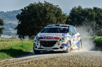 Jacopo Trevisani, Fabio Grimaldi, Peugeot 208 R2B, HP Sport