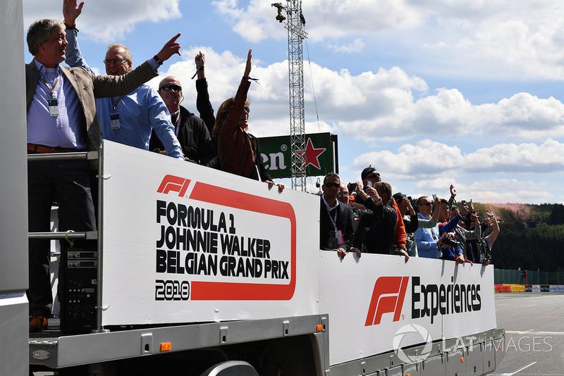 Objazd toru, ciężarówka F1 Experiences