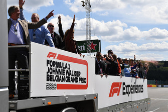 F1 Experiences truck tour