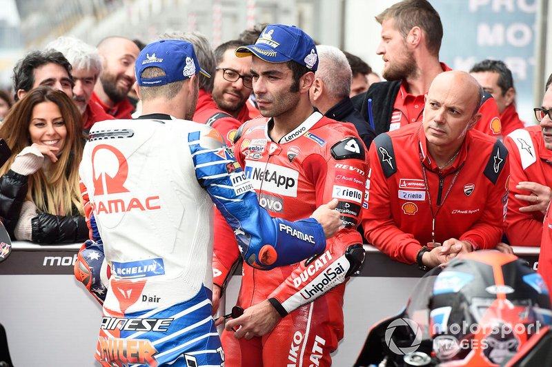 Jack Miller, Pramac Racing, Danilo Petrucci, Ducati Team
