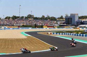 Tom Sykes, BMW Motorrad WorldSBK Team, Leon Haslam, Kawasaki Racing