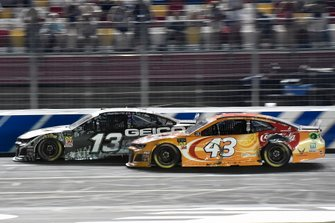 Ty Dillon, Germain Racing, Chevrolet Camaro GEICO Military,Darrell Wallace Jr., Richard Petty Motorsports, Chevrolet Camaro Coca-Cola Orange Vanilla