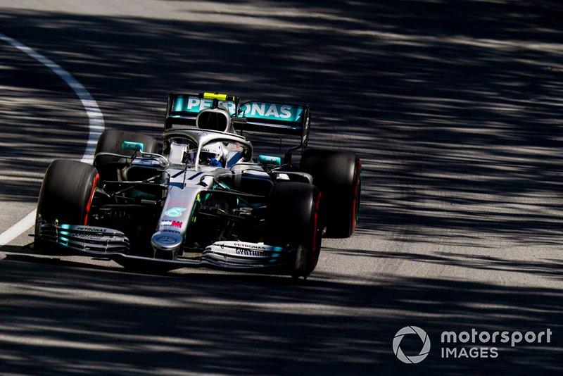 6: Valtteri Bottas, Mercedes AMG W10, 1'11.101