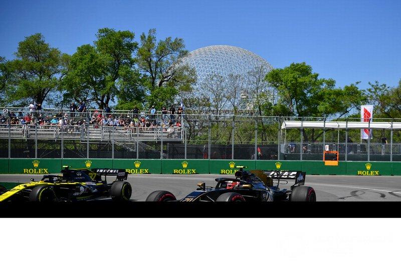 Kevin Magnussen, Haas F1 Team VF-19, Nico Hulkenberg, Renault F1 Team R.S. 19