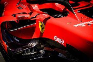 Ferrari SF90 cockpit detail
