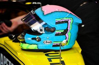 The helmet of Daniel Ricciardo, Renault