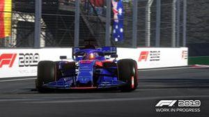 Скриншот из игры F1 2019