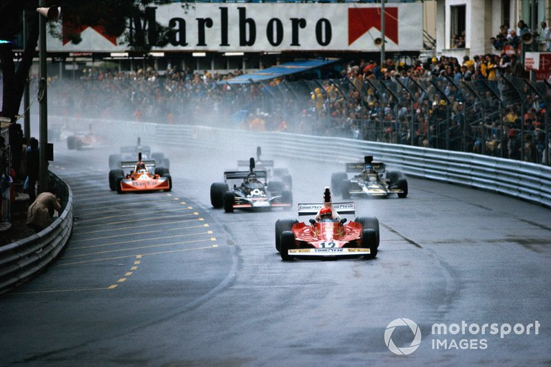 Niki Lauda, Ferrari 312T, líder al inicio