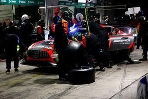 #3 Mercedes AMG Team Black Falcon Mercedes AMG GT3: Maximilian Buhk, Hubert Haupt, Thomas Jäger, Luca Stolz