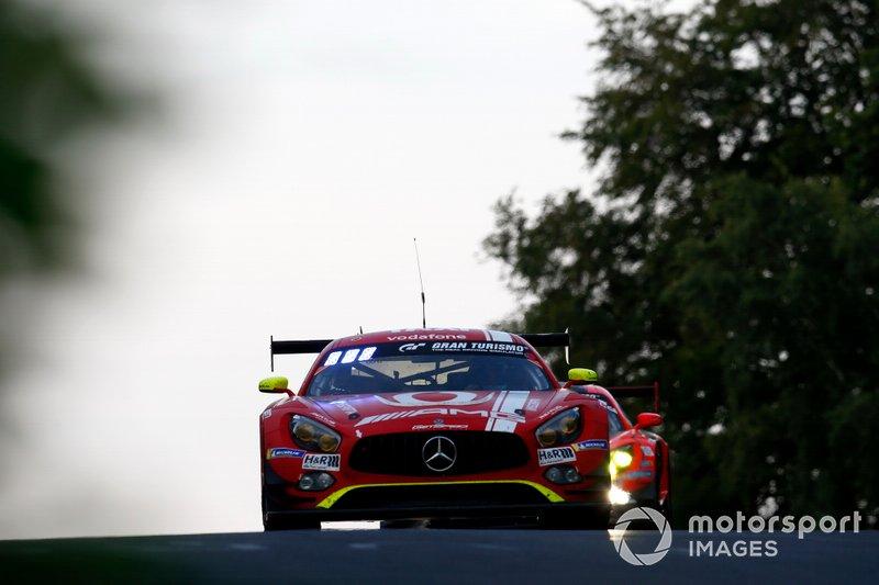 #16 GetSpeed Performance Mercedes AMG GT3: Renger van der Zande, Tristan Vautier, Dominik Baumann, Jan Seyffarth
