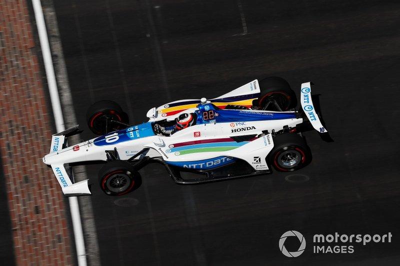 #10 Felix Rosenqvist, NTT DATA Chip Ganassi Racing, Chip Ganassi Racing Honda