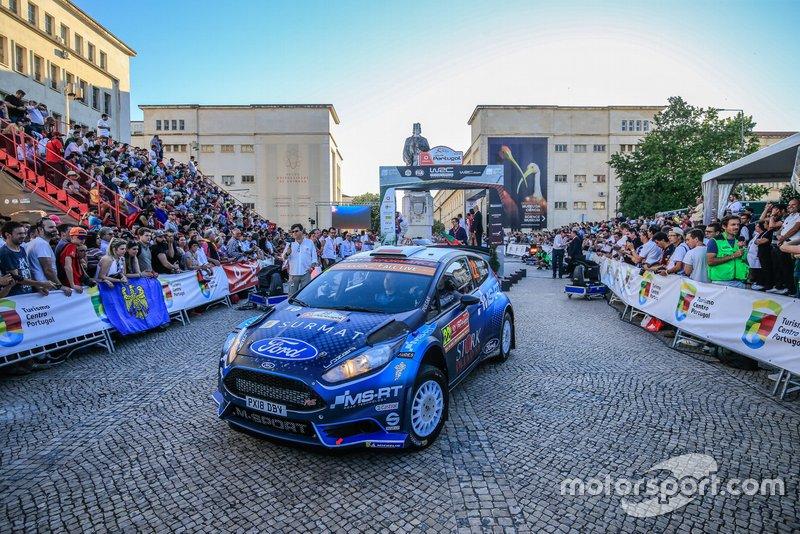 Lukasz Pieniazek, Jakub Gerber, Ford Fiesta