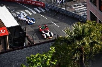 Daniel Abt, Audi Sport ABT Schaeffler, Audi e-tron FE05, Alexander Sims, BMW I Andretti Motorsports, BMW iFE.18