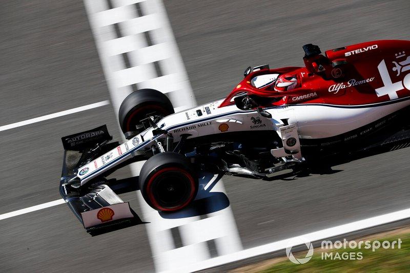 Kimi Raikkonen - Alfa Romeo Racing: 6 puan