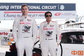 #35 Arto Panther Team Thailand Lexus RC F GT3: Nattapong Horthongkum, Sean Walkinshaw