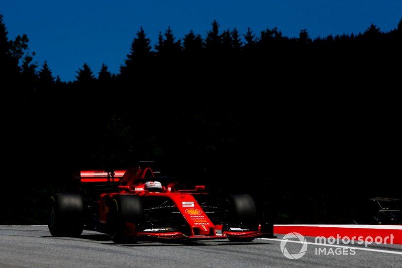 4 - Sebastian Vettel, Ferrari SF90