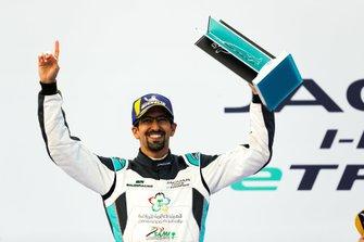 Ahmed Bin Khanen, Saudi Racing, 1st position, on the podium