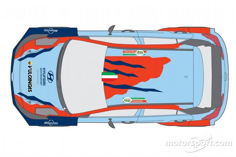 Hyundai i20 R5, SA. Motorsport
