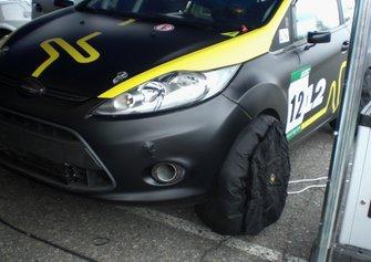 Колісні грілки на Ford Fiesta дебютанта Миколи Сушко