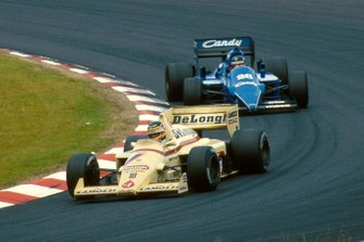 Thierry Boutsen, Arrows A8; Jacques Laffite, Ligier JS25