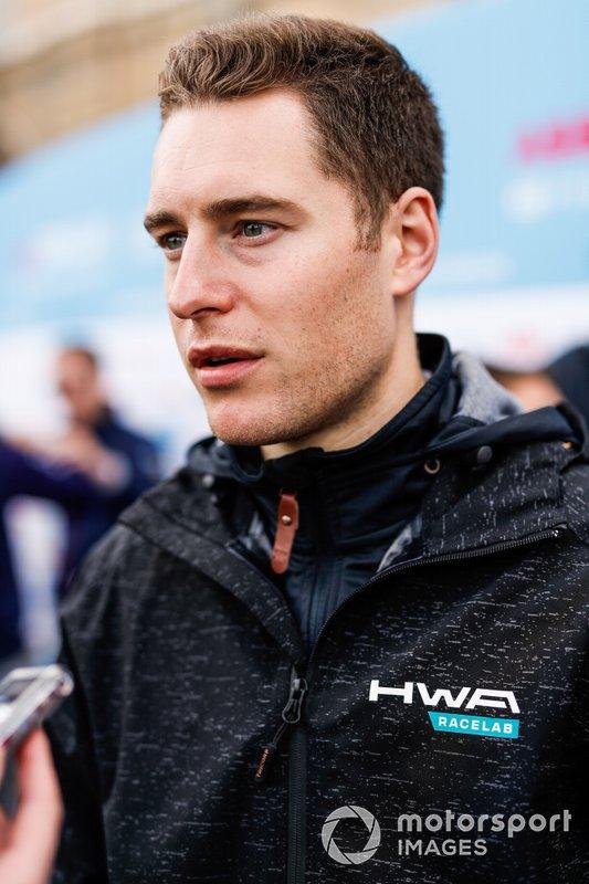 Stoffel Vandoorne, HWA Racelab, parla con la stampa