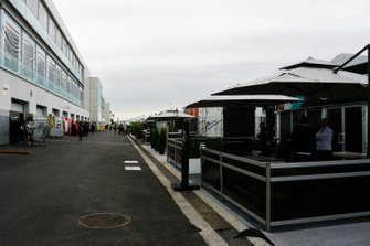 The AMG Mercedes hospitality area
