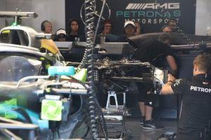Mercedes AMG F1 W10 brakes detail