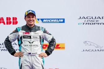 Simon Evans, Team Asia New Zealand, 3rd position, on the podium
