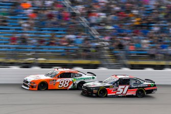 Chase Briscoe, Stewart-Haas Racing, Ford Mustang Nutri Chomps/Bomgaars