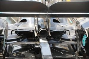 Mercedes AMG W10 diffuser detail