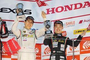 GT300 podium: third place #88 JLOC Lamborghini Huracan GT3: Takashi Kogure, Yuya Motojima