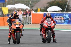 Johann Zarco, Red Bull KTM Factory Racing, Danilo Petrucci, Ducati Team