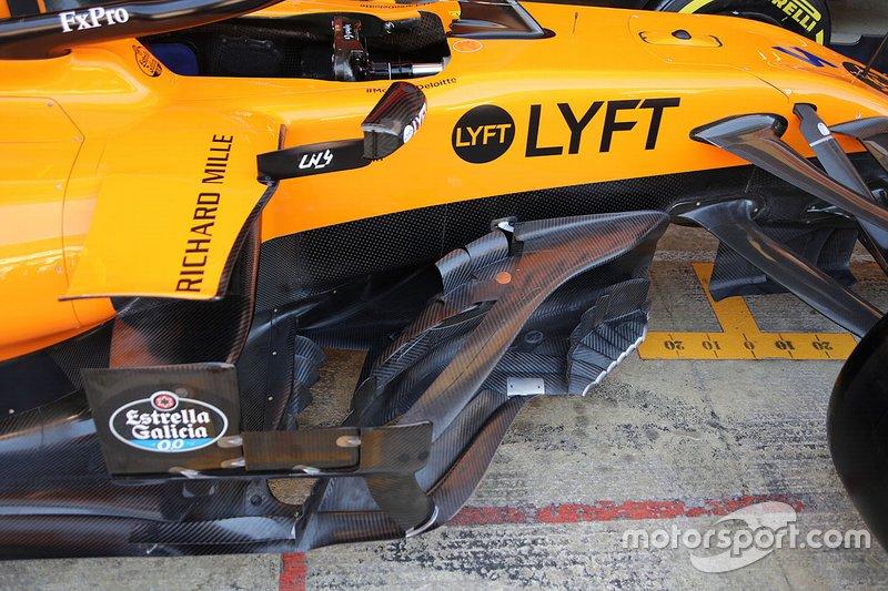 McLaren MCL34: Windabweiser