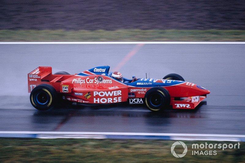 Jos Verstappen, Footwork FA17