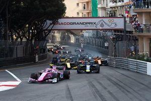 Start der Formel 2 2019 in Monte Carlo