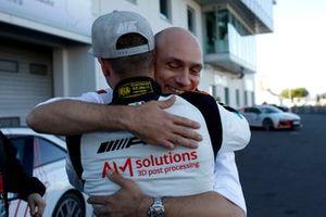 #2 Mercedes AMG Team Black Falcon Mercedes AMG GT3: Maro Engel with Stefan Wendl, AMG