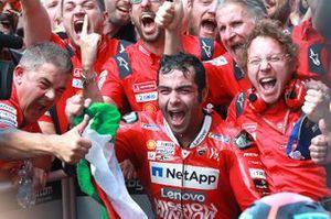 Yarış galibi Danilo Petrucci, Ducati Team