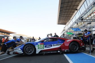 #68 Ford Chip Ganassi Racing, Ford GT: Joey Hand, Dirk Muller, Sebastien Bourdais