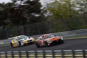 #155 Black Facon Mercedes-AMG GT4, Stephan Rösler, Yannick Mettler, Mike Stursberg